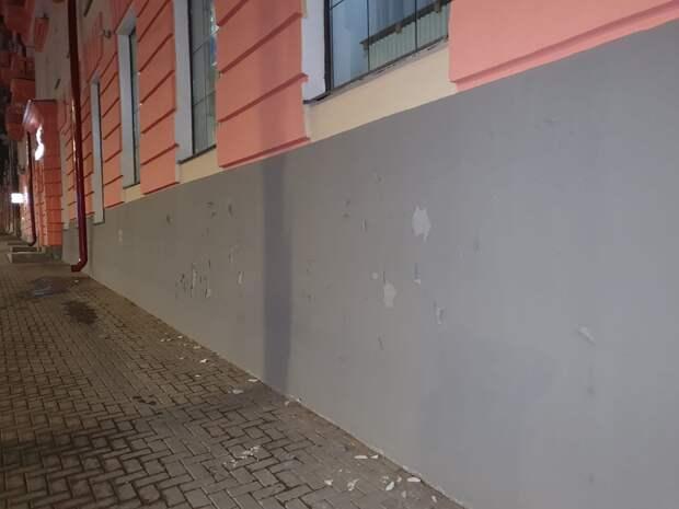 Облезший после зимы фасад «сталинки» на улице Пушкинской в Ижевске восстановит подрядчик