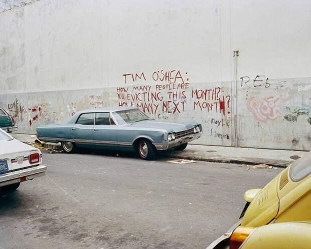 Как выглядели улицы Сан-Франциско в конце 70-х годов