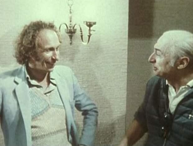 Пьер Ришар и Жерар Ури, конец 70-х