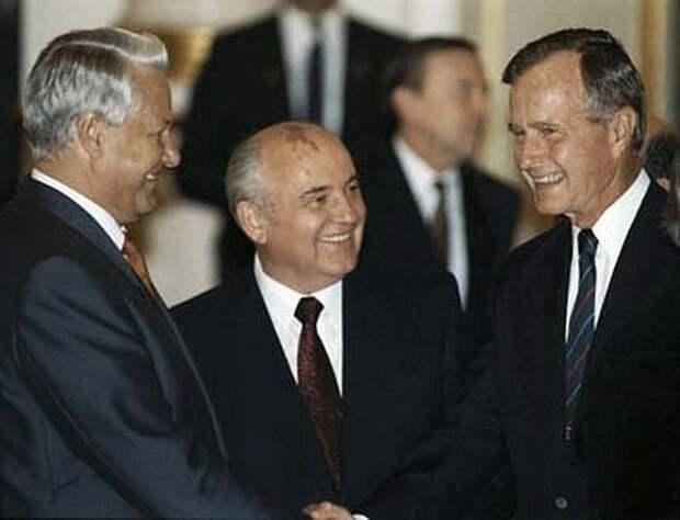Беловежье и холопство. Стенограммы телефонных разговоров Ельцина и Горбачева с Д.Бушем.
