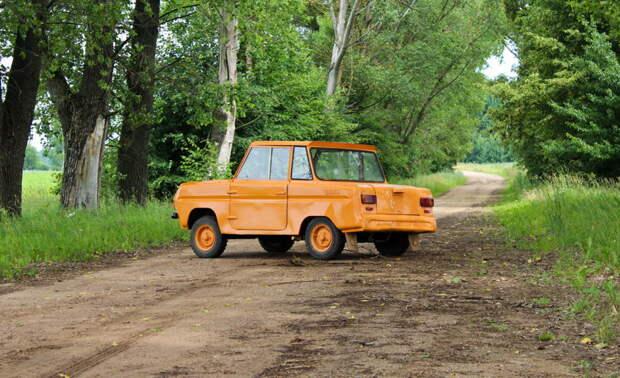 СМЗ С3Д - один из самых необычных экземпляров советского автопрома прикол, ссср