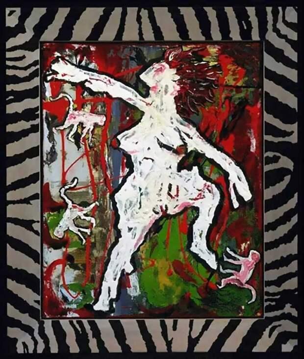 Талантливый человек талантлив во всем: какие картины писал Дэвид Боуи