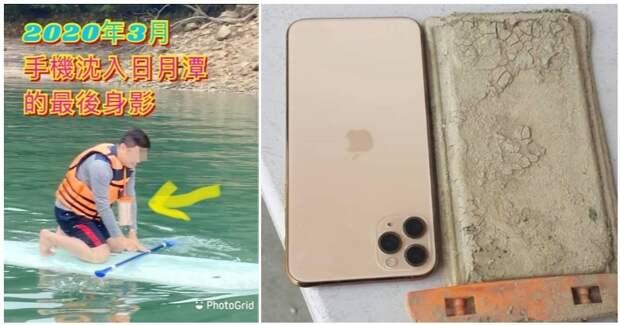 iPhone 11, который год пролежал в озере, все еще работает