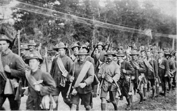Загадка исчезнувших солдат Норфолкского полка