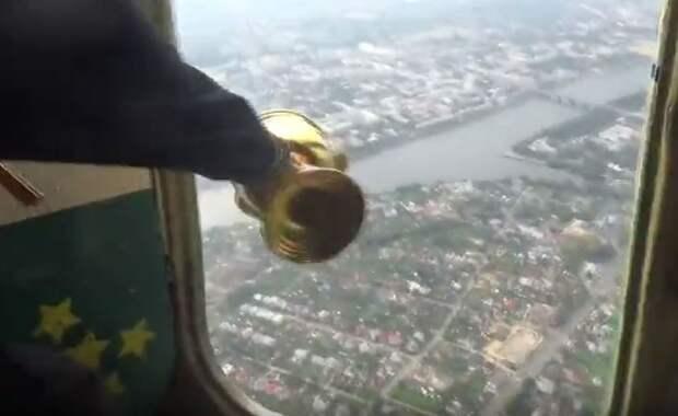 Тверь с вертолёта окропят святой водой, чтобы избавить от пьянства, наркомании и блуда