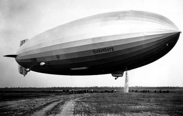 Дирижабль «Гинденбург»