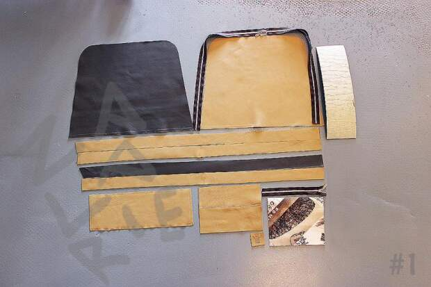 Сумка-трансформер со складывающимся верхом – в 30 шагов