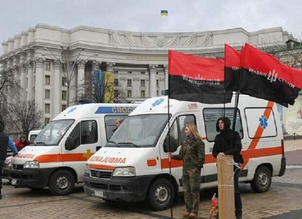 Поляки возмущены: Польша подарила бандеровцам машины «скорой»