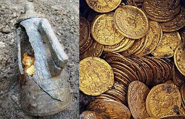 Какие секреты открыла древнеримская амфора с золотом, недавно найденная в Италии