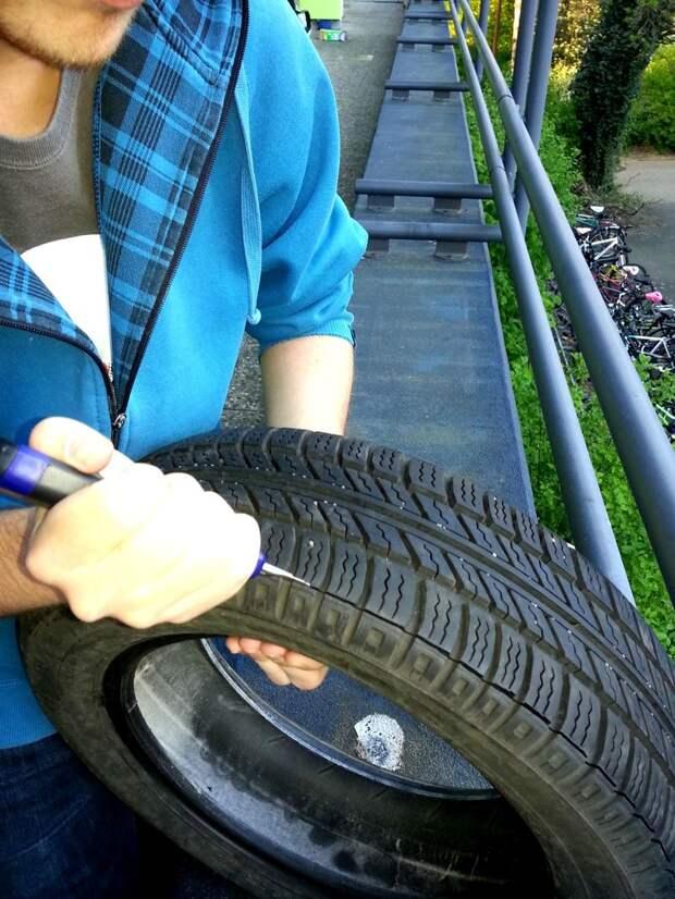 Новая подошва из старой шины (16 фото) Интересно, Сделай сам, лайфхак, покрышка, подошва,