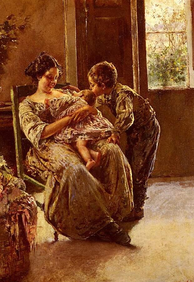картина итальянского художника В.Иролли