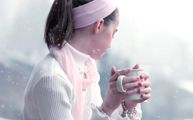 Она Ему заварит зимний чай...