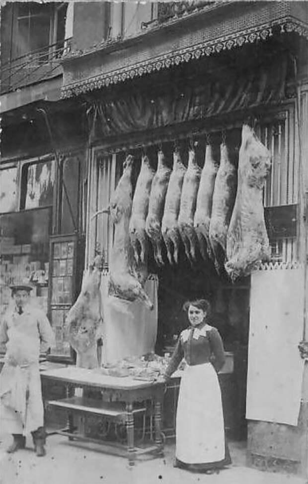 Эпоха до холодильников: мясные лавки в викторианской Англии