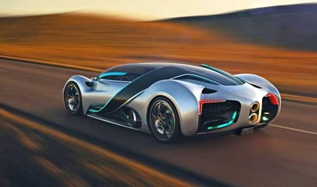 Представлен водородный суперкар с дальностью пробега до 1635 км