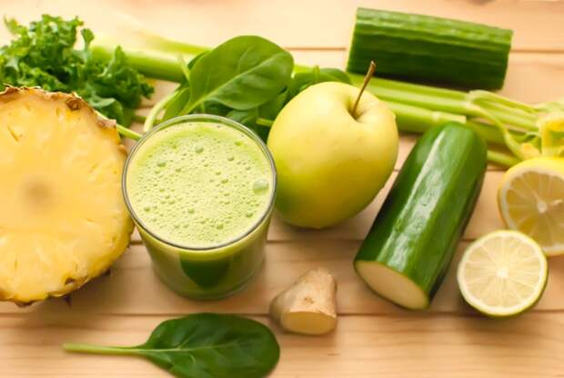 Зелёные плоды богаты клетчаткой, а значит, хорошо насыщают организм и очищают его от всего лишнего