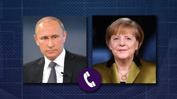 До Лукашенко так и не дозвонилась: Меркель связалась с Кремлём