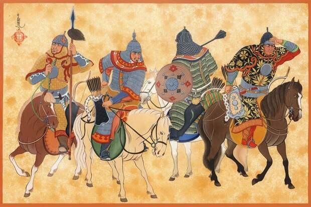 Империя Чингисхана… без монголов. И такое бывает…