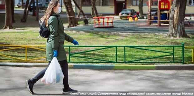 На ТПУ «Щелковский» за день выявили более 20 «безмасочников» . Фото: пресс-служба Департамента труда и социальной защиты населения