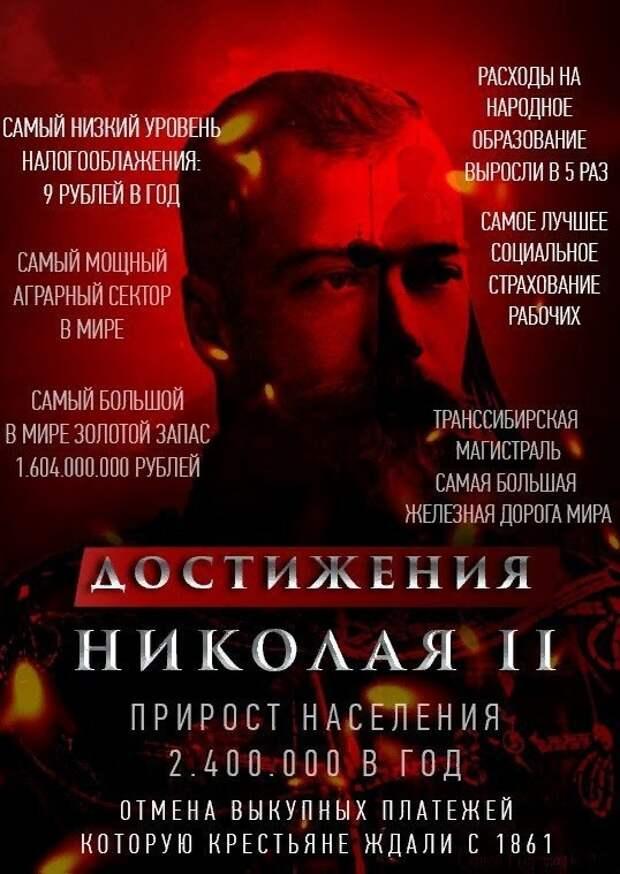 Империя Николая II. Заводы рабочим
