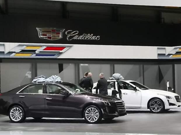 Cadillac показал европейцам «горячие» ATS-V и CTS-V