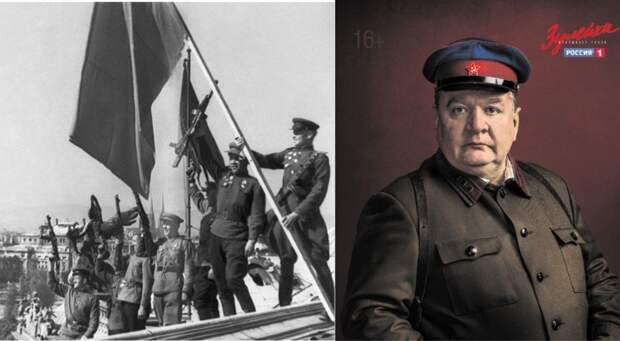 """Слева - как выглядели советские воины на самом деле. Справа - образ, который нам навязывает телекомпания """"Россия-1"""". Смотри - не перепутай."""