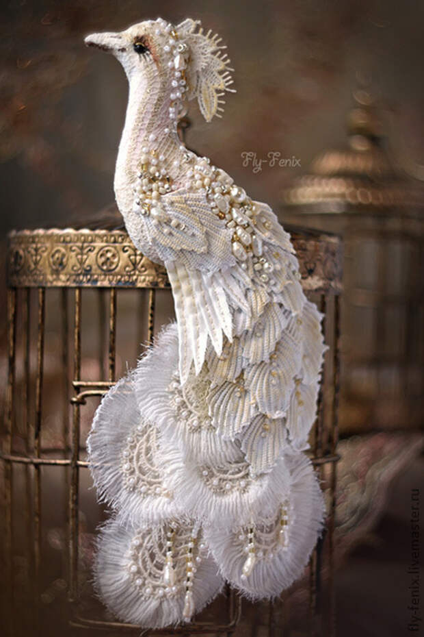 Райские птицы Юлии Гориной никого не оставят равнодушными.Потрясающая красота! )