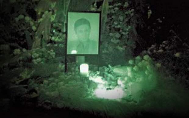 Почему могилы светятся