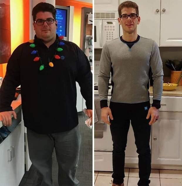 Он поменял свой образ жизни и невероятно счастлив! в мире, внешность, диета, история, люди, спорт, фигура