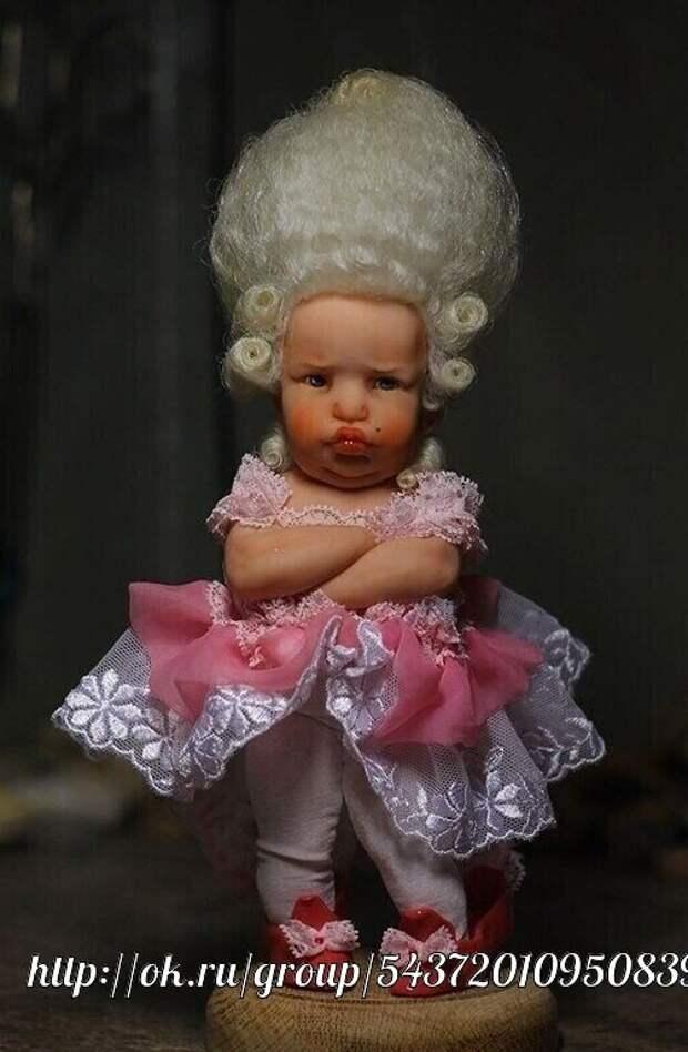 Реалистичные куколки из полимерной глины, которые очень похожи на малышей!