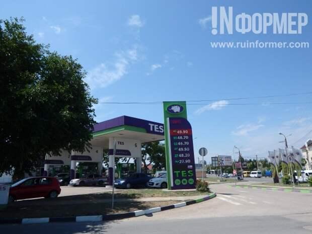 Космические цены на бензин в Севастополе