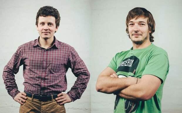 5. Федор Тихомиров (27) и Александр Кокшаров (26), компания FK-Ramps люди, миллионер, россия