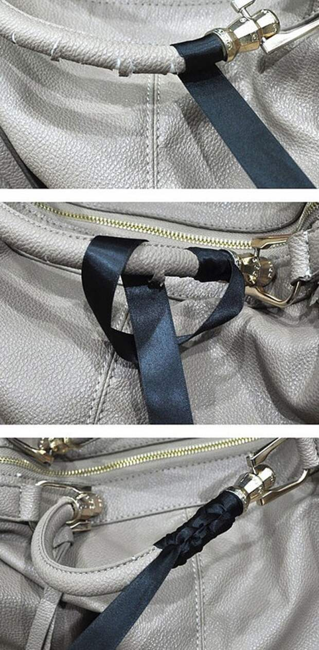 Мастер-класс ремонт ручек сумки из кожи