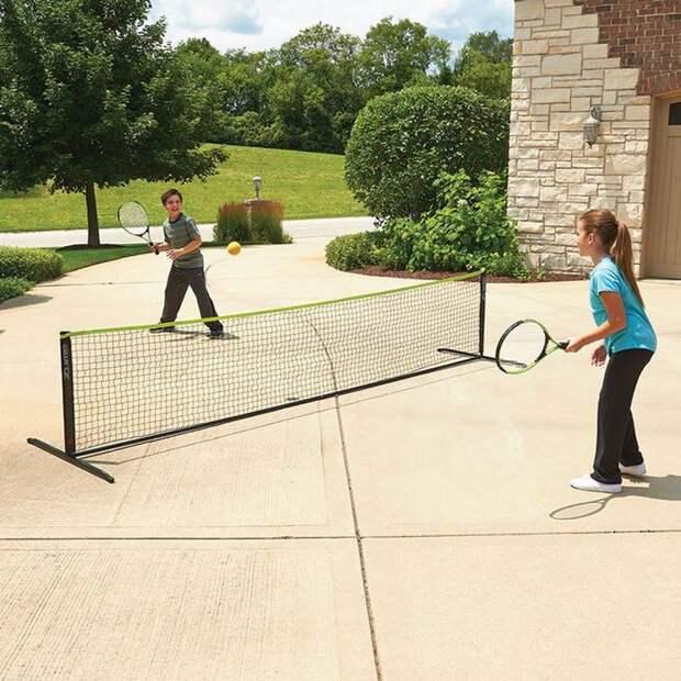 3. Переносной теннисный корт. вещи, лето
