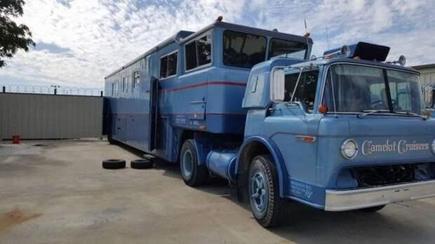 Грузовик для путешествий — роскошь из 1970 года