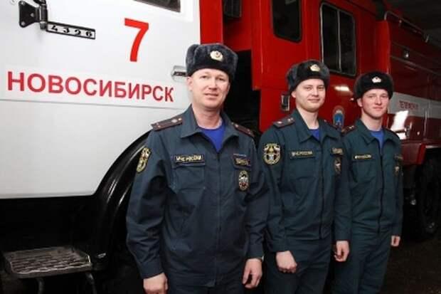 Двое новосибирских пожарных спасли из огня 44 человека 2015, героизм, герой