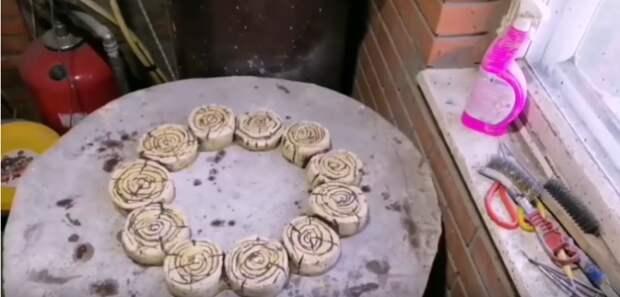 Как создать клумбы-бордюры всего за 50 рублей