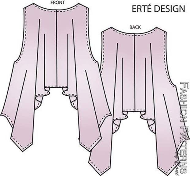 CS1401 - Erté Wrap, Circular Wrap and Cocoon Wrap : Learn Pattern Fitting, Sewing & Design | Fashion Patterns
