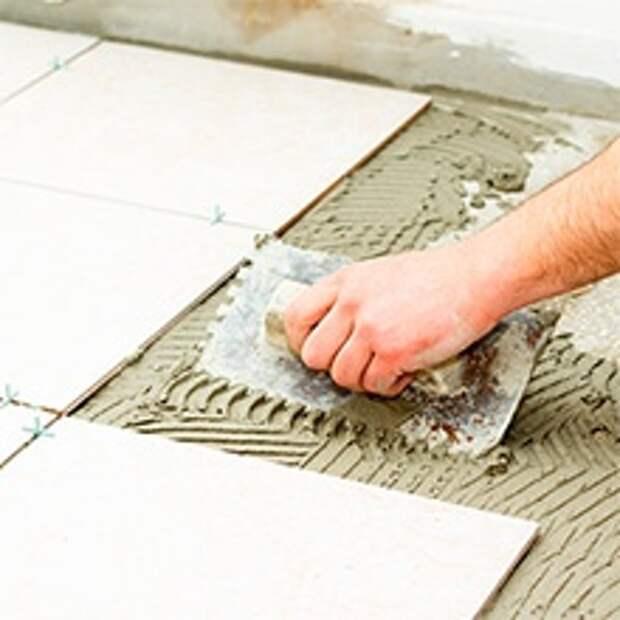 Работы по облицовке – способ укладки «плитка на плитку»