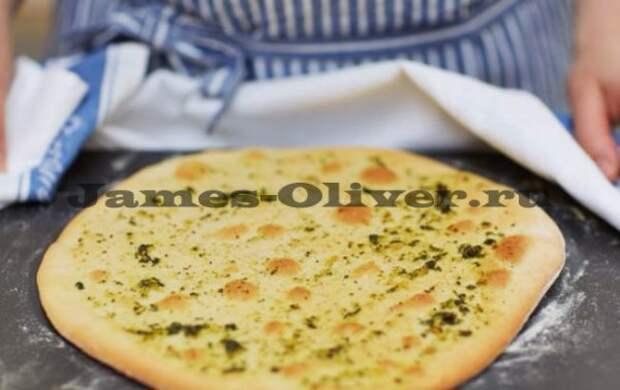 Оригинальная пицца-бутерброд