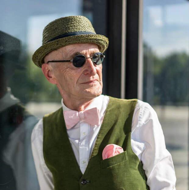 Как оставаться стильным даже в пожилом возрасте