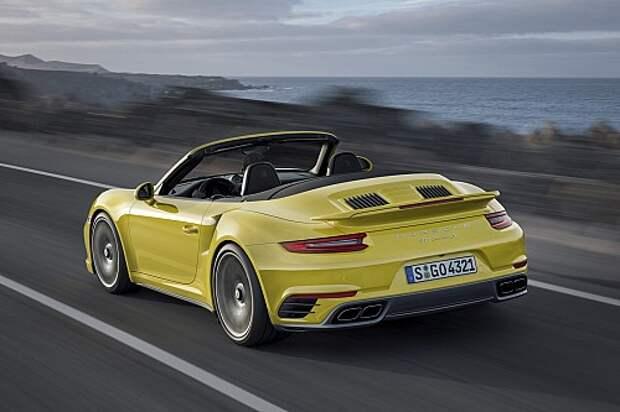 На волне наддува: Porsche модернизировала 911 Turbo/Turbo S (ФОТО)