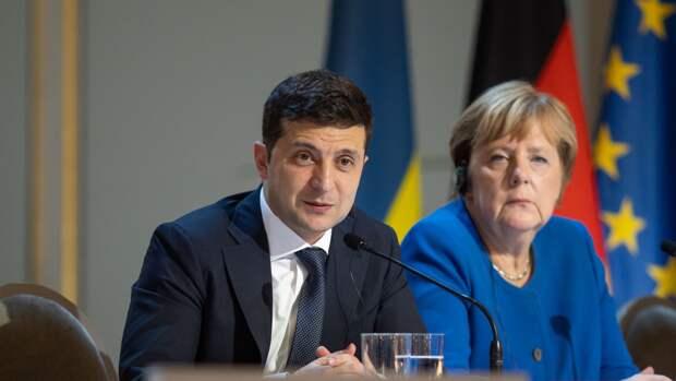 Зеленский, Макрон и Меркель сделали совместное заявление о ВС РФ на границе с Украиной