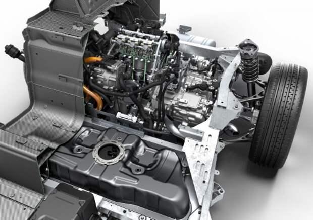 Гибридная силовая установка BMW i8