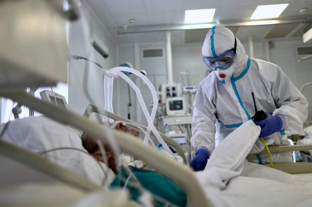 В России за сутки выявлено 8632 случая коронавируса