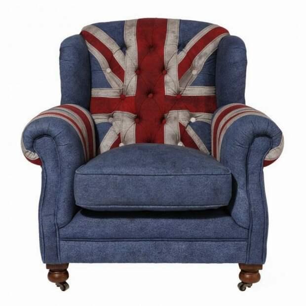 Классика интерьера: кресло с ушами.