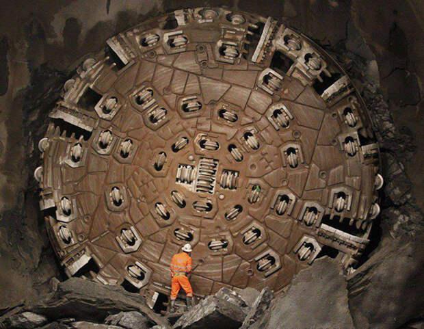 Готтард — самый длинный туннель в мире