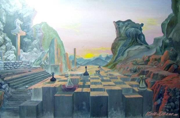 Картины Роба Гонсалвеса.