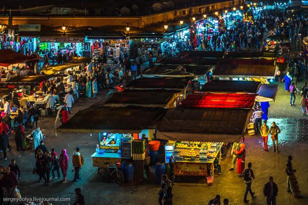 Марокканский стритфуд