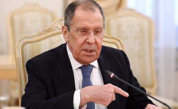 На фото: министр иностранных дел России Сергей Лавров