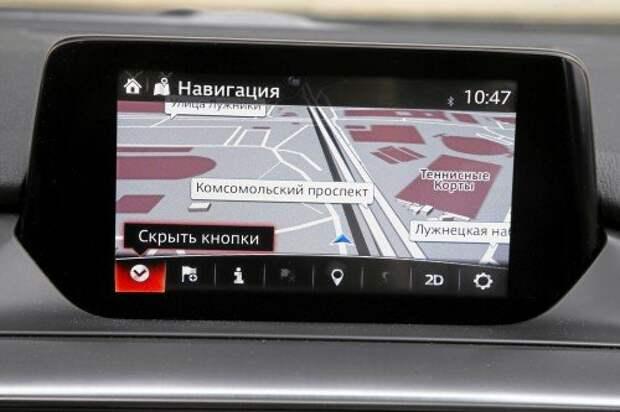 Навигация на базе iGO знает расположение камер ГИБДД и действующие ограничения скорости. Карты HERE Maps обновляются бесплатно первые три года.